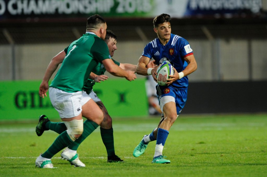 New halfback axis for France