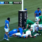 Highlights: Italy vs Ireland