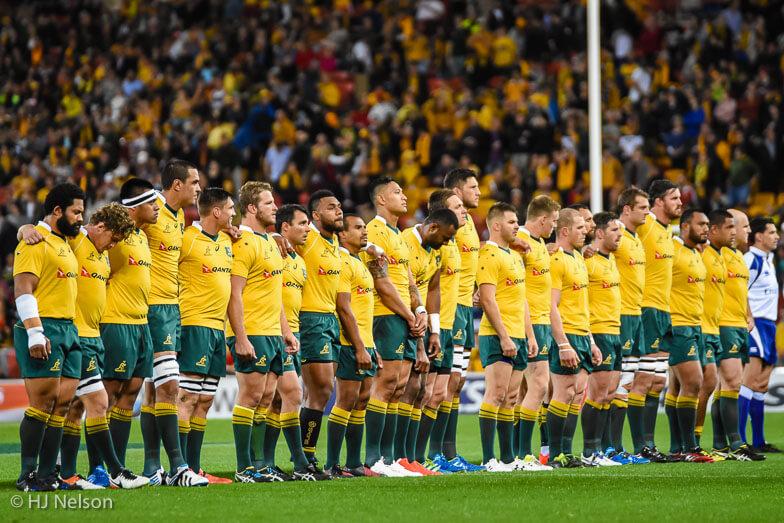 Rugby Australia's Wallabies