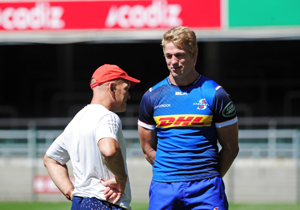 Stormers flank Pieter-Steph du Toit and John Dobson