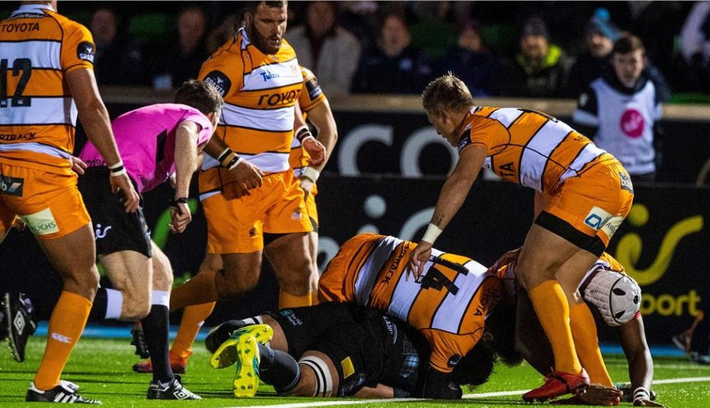 Warriors too strong for Cheetahs