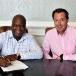 Loyiso Dotwana and Jurie Roux