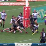 Highlights: Sharks vs Rebels