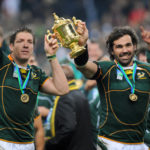 Springbok World Cup heroes Bakkies Botha and Victor Matfield