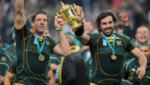 Springbok World Cup heroes Bakkies Botha and Victor Matfield