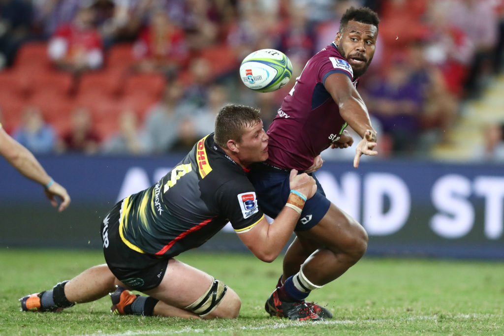 Reds down reckless Stormers