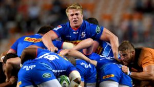 The Stormers form a maul