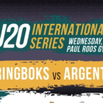 Watch: Junior Boks vs Argentina U20