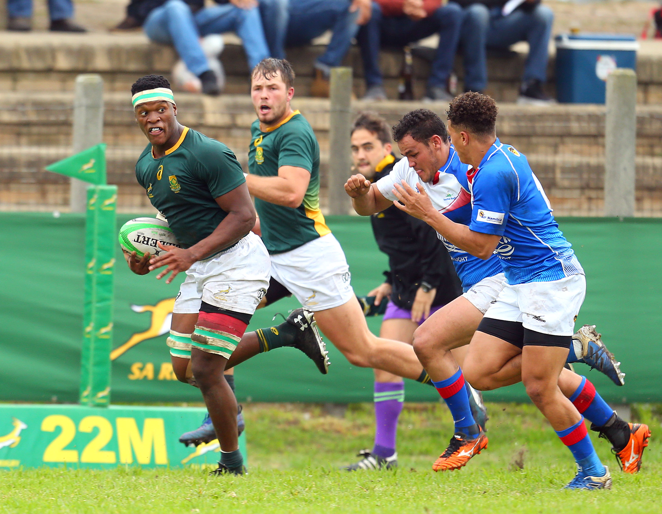 Buthelezi to lead Junior Bok assault