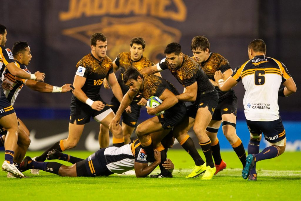 Jaguares battle past Brumbies